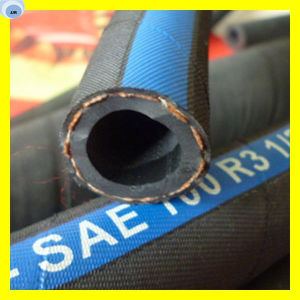Hydraulic Oil Hose Rubber Oil Hose Fibre Oil Hose pictures & photos