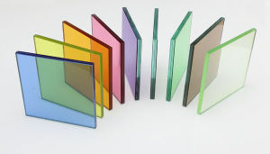 Clear and Color Laminated Glass/Safety Glass (JINBO) pictures & photos