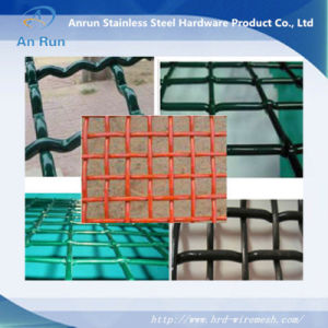 PVC Coated Galvanized Crimped Wire Mesh Panels pictures & photos