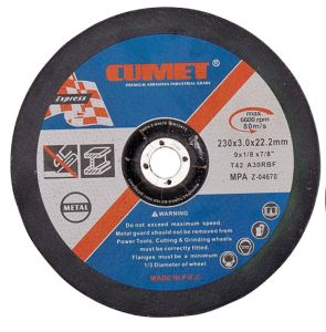 Depress Center Cutting Disc for (230X3.2X22.2) Metal Abrasive with MPa Certificates pictures & photos
