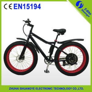Aluminum Alloy 250W Motor Shuangye 28 Inch Electric Fat Bike pictures & photos