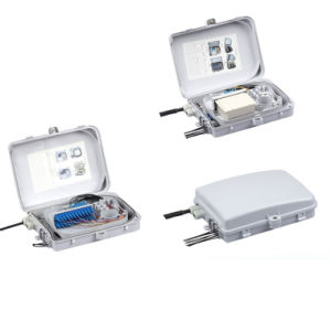 FTTH 24 Cores Fiber Optic Termination Box (AS-ODF-FDB-24) pictures & photos