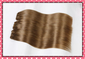 Premium Remy Peruvian Human Hair Weaving Silky Straight 20inches pictures & photos