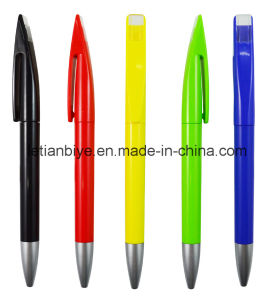 Company Logo Printed Promotional Plastic Pen with Exclusive Clip (LT-C709) pictures & photos