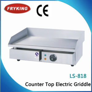Commercial Stainless Steel Counter Top Flat Electric Griddle pictures & photos