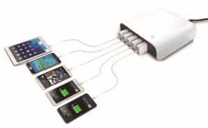 5 Port USB Smart Charger Hub Adapter for iPhone pictures & photos