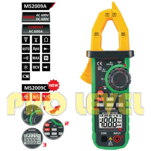 6000 Counts Digital AC and DC Clamp Meter (MS2009C) pictures & photos