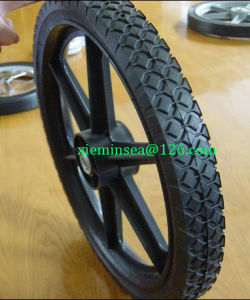 14*1.75 Inch Semi-Pneumatic Rubber Wheel pictures & photos