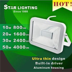Ultra Thin 10W 20W 30W 40W Waterproof LED Flood Light pictures & photos