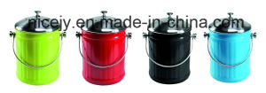 5L Stainless Steel Tabletop Compost Caddy/Compost Pail/Kitchen Waste Bin pictures & photos
