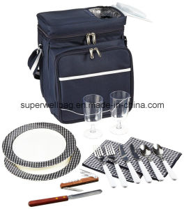 Insulated Picnic Basket Bags Cooler Bags for 2 Person pictures & photos