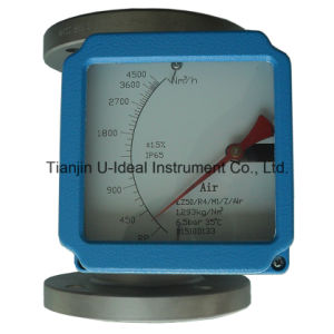 Mechanical / Electrical Variable Area Water Flow Meter Rotameter (LZ50-R1M1ESEXK1AIR) pictures & photos