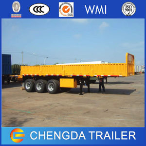 3 Axle 40ton Side Wall Semi Trailer for Multi-Usage pictures & photos