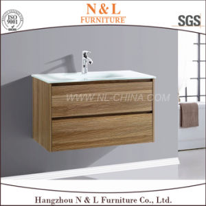 Modern Solid Wood Oak Bathroom Furniture pictures & photos