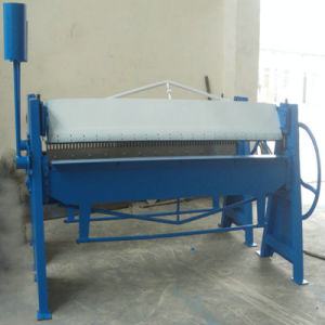 Hand Folding Machine, Metal Sheet Folder Machine pictures & photos