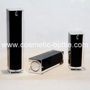 15g Elegant Black Acrylic Foundation Lotion Bottle (FA-03-B15)
