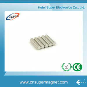 ISO9001 Certificated Sintered Neodymium Cylinder Magnet pictures & photos
