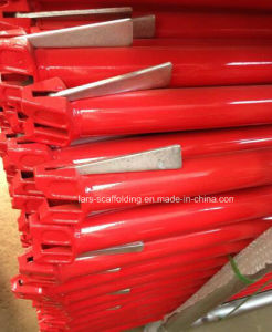 Durable Ringlock Scaffolding Horizontal/Ledger Red Powder Coated From China pictures & photos