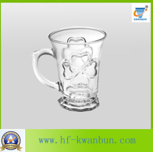 Water Beer Glass Cup with Handle Glassware Kb-Hn0333 pictures & photos