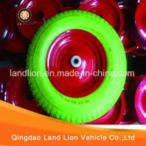 Manufacture Kinds Model of Environmental PU Foam Wheel 4.00-8, 5.00-6 pictures & photos