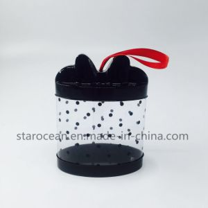 PVC Plastic Boxes with Silk Screen Printing and Ribbon pictures & photos