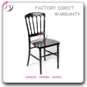 Non-Transparent Plastic Mahogany Napoleon Chair (RT-21) pictures & photos