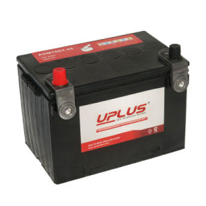 AGM78dt-55 High Performance 12V AGM Start-Stop Car Battery pictures & photos