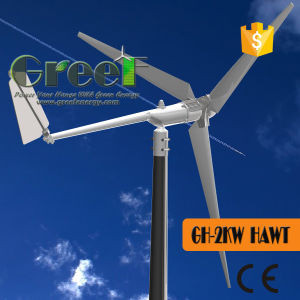 off Grid System 2kw Horizontal Wind Turbine for Sale pictures & photos