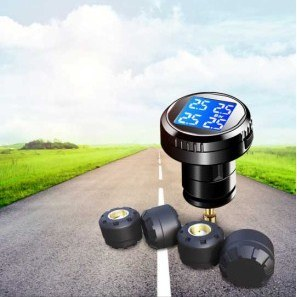 High Quality LED Display 4 Sensors Wireless Tire Pressure Monitoring pictures & photos