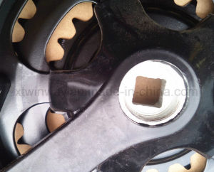 Hot Selling Bicycle Parts, Steel Chainwheel and Crank pictures & photos