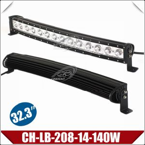 """140W 32.3"""" Curved One Row LED Light Bar with CREE Chips (CH-LB-208-14-140W)"""