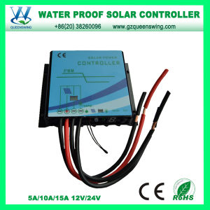 Water Proof 5A Auto PWM Solar Charge Controller (QWP-145WP1) pictures & photos