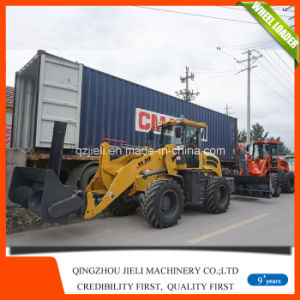2tons Snow Tyre Small/Mini Wheel Loader with Ce pictures & photos