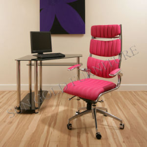 Pink Office Chair Leather Swivel Office Chairs Office Furniture (SZ-OC148) pictures & photos