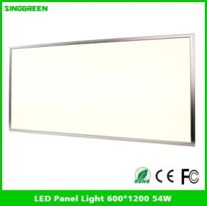 Ce RoHS LED Panel Lights 54W 600*1200*9