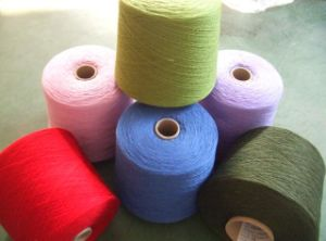 100% Polyester Spun Yarn pictures & photos