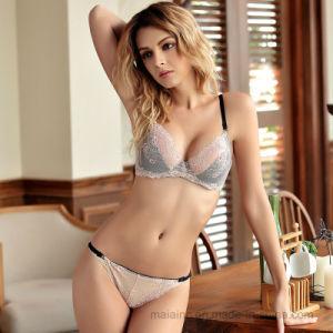 2017 New Ladies Sexy Lace Lingerie Set pictures & photos