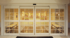 Automatic Glass Sliding Safety Door (DS100) pictures & photos
