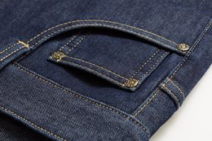 D822 Men Thick Trousers Denim Jeans pictures & photos