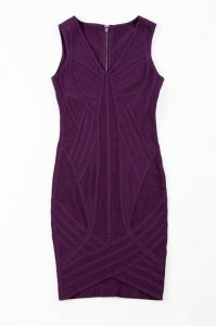 Sleeveless V Neck Basic Style Evening Bandage Dress pictures & photos