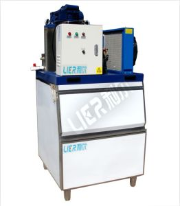 Commercial Ice Maker Machine with Ice Bin (200kg/day-1000kg/day) pictures & photos
