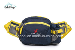 Nylon Outdoor Sport Travel Waist Bags with Water Bottle Holder pictures & photos