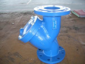 Wcb Flanged Y-Type Strainer Pn10/Pn16 pictures & photos