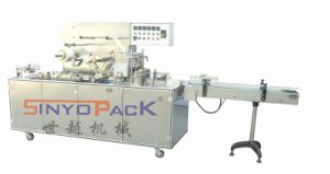Adjustable Tri-Dimensional Cellophane Overwrapping Machine (with adhesive tear-tape) pictures & photos