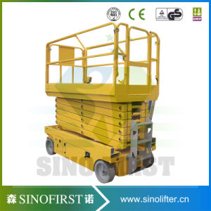 Good Quality Full Electric Scissor Kind Man Lift pictures & photos