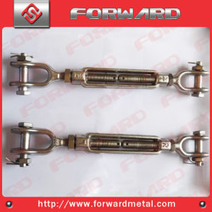 T316 Stainless Steel Drop Forge Us Turnbuckle Jaw and Jaw pictures & photos