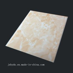 25cm*6mm/7mm/7.7mm Laser Hot Stamping PVC Ceiling Panel (RN-118) pictures & photos