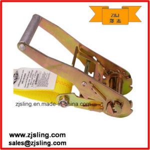 "Ratchet Strap W/ Grab Hook 2"" X 27′ Yellow pictures & photos"