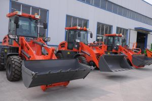 1.5ton Front Mini Compact Loader for Sale pictures & photos