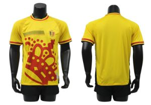 Football Soccer Uniform, Soccer Jersey Yellow, Jersey Soccer pictures & photos